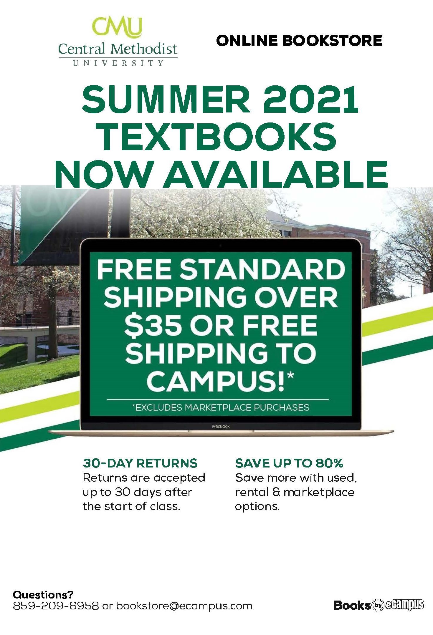 Summer 2021 Textbooks Now Available